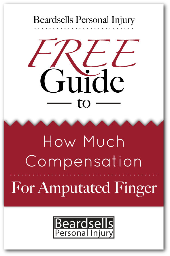 How Much Compensation for an Amputated Finger (BeardsellsPersonalInjury.co.uk)