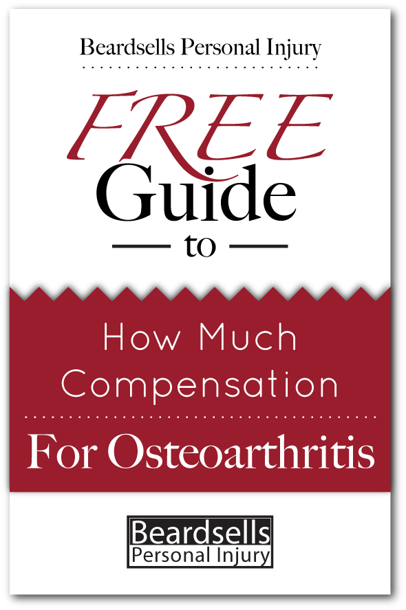 How Much for Osteoarthritis Compensation? from BeardsellsPersonalInjury.co.uk